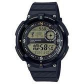 【東洋商行】免運 CASIO 卡西歐 世界地圖概念雙傳感器數位運動錶 SGW-600H-9ADR 手錶 電子錶 腕錶