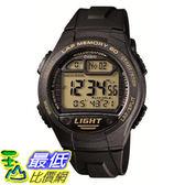東京直購CASIO SPORTS GEAR W 734J 9AJF 手錶腕錶防水10BAR