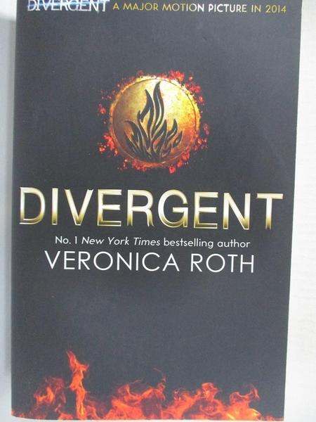 【書寶二手書T3/原文小說_AAE】Divergent Trilogy (1) Divergent_維羅妮卡·羅斯(Veronica Roth)
