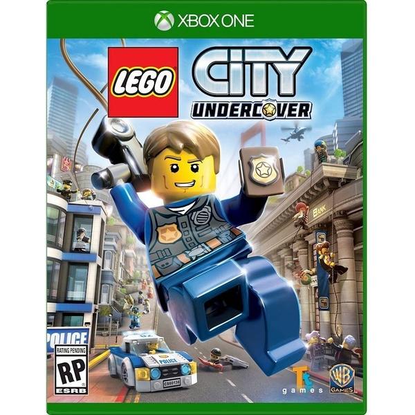 XBOX ONE 樂高小城 臥底密探(含人物密碼) -中文亞版- 樂高版GTA Lego City Undercover