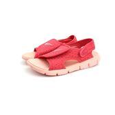中童NIKE SUNRAY ADJUST 4 (GS/PS) 輕量運動涼鞋 《7+1童鞋》 E890 粉色
