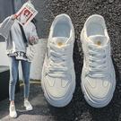 女鞋春季新款小白鞋爆款原宿百搭單鞋學生休閒運動潮鞋子 夢幻衣都
