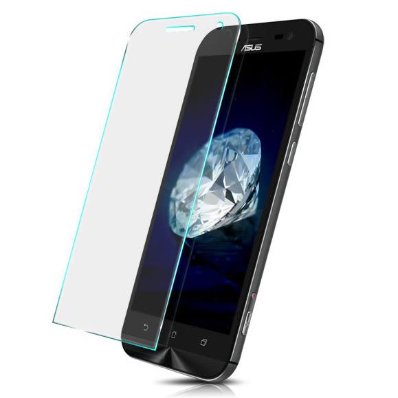 ASUS 透明高清玻璃 5吋 正/單面 9H高硬度 手機螢幕透明玻璃 提供多型號