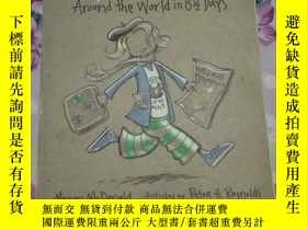 二手書博民逛書店Judy罕見Moody Around the World in