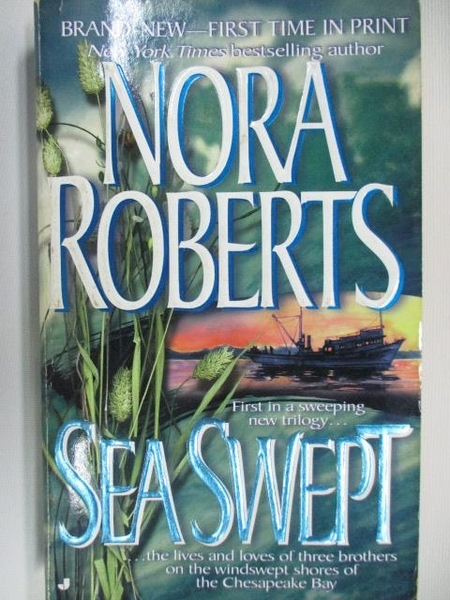 【書寶二手書T6/原文小說_AAK】Sea Swept_Nora Roberts