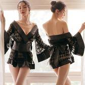 情趣和服 性感情趣內衣透視三點式內褲激情套裝血滴子女和服制服用品誘惑騷【星時代女王】
