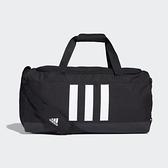 ADIDAS 3-STRIPES 39L 黑色M號健身包-NO.GN2046
