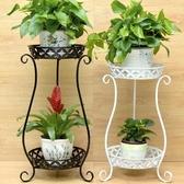 歐式鐵藝多層花架綠蘿吊蘭陽台花架子地面客廳室內落地花盆架