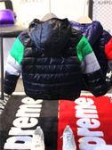 男童羽絨服 童裝冬裝男童男冬外套寶寶羽絨服兒童保暖加厚外衣棉襖潮 卡卡西