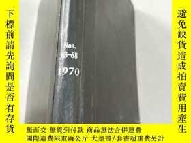 二手書博民逛書店NITROGEN罕見Nos 63-68 1970 氮Y21282