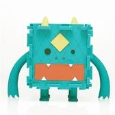 【通通吃光光】Monster Box 怪獸存錢置物盒/綠【Dotfuns】