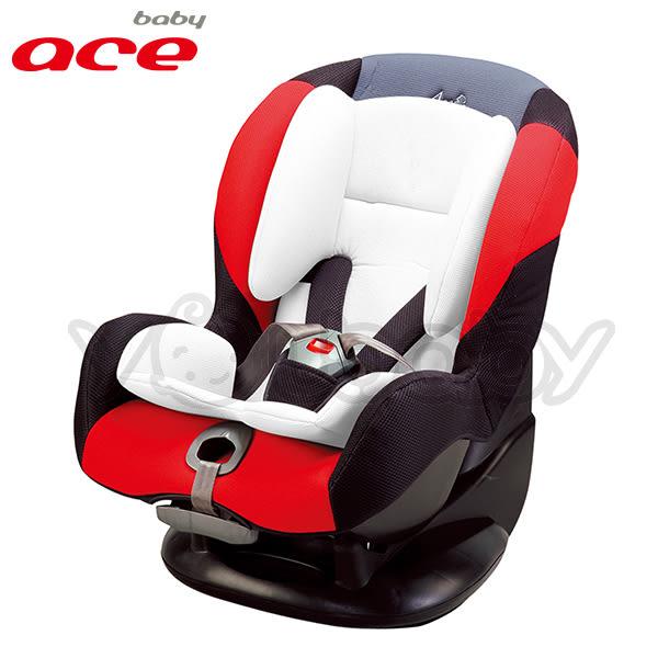 baby ACE 二合一 0-4歲汽車安全座椅/汽座-紅