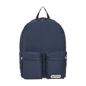 【OUTDOOR】慢活宣言-14吋筆電後背包-深藍色 OD201107NY