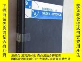 二手書博民逛書店外文書罕見JOURNAL OF DAIRY SCIENCE 共1