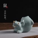 茶玩生肖動物開片可養 單個價格