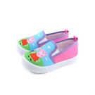 粉紅豬小妹 Peppa Pig 休閒鞋 懶人鞋 童鞋 淺藍/粉紅 中童 童鞋 PG8540 no831 14~18cm