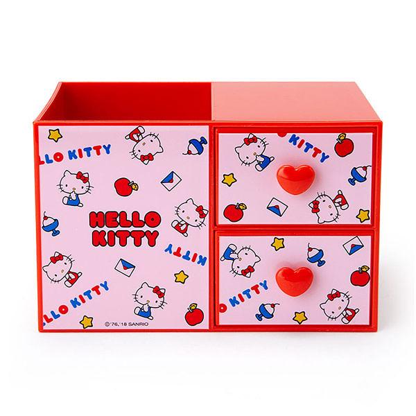 【震撼精品百貨】Hello Kitty 凱蒂貓~HELLO KITTY桌上型ABS塑膠筆筒與置物盒(生活小物)