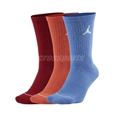Nike 襪子 Jordan Everyday Max Crew Socks 三色 喬丹 三雙入【ACS】 SX5545-911