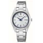 【台南 時代鐘錶 SEIKO】精工 CS 限量140周年 SUR463P1 日期 鋼錶帶女錶 6N22-00R0S 銀 29.8mm 對錶