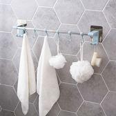 黏貼毛巾掛鉤浴室免打孔毛巾架 廁所毛巾掛置物架抹布掛架  igo 晴光小語