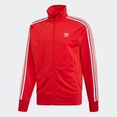 L- adidas ORIGINALS FIREBIRD TT 立領外套 紅色 火鳥 三葉草 男款 ED6071