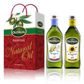 【Olitalia奧利塔】玄米油+葵花油禮盒組(1000ml各1)