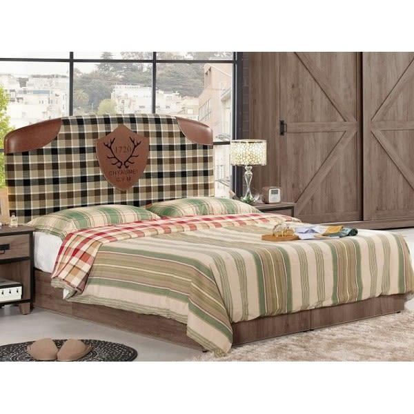 床架 MK-547-1 哈麥德5尺雙人床 (床頭+床底)(不含床墊) 【大眾家居舘】