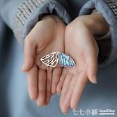 唐曉珠寶琺瑯彩蝴蝶胸針女韓國簡約時尚氣質別針外套開衫胸花奢華