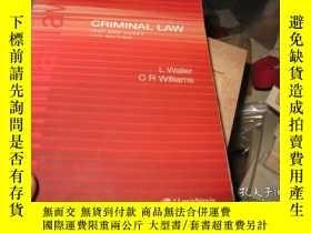 二手書博民逛書店Criminal罕見Law:11th edition 內有劃線Y
