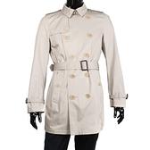 BURBERRY英系經典男士短版風衣外套(卡其色)082051-3