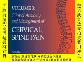 二手書博民逛書店Clinical罕見Anatomy And Management Of Cervical Spine Pain: