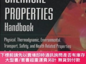二手書博民逛書店Chemical罕見Properties Handbook: Physical Thermodynamics En