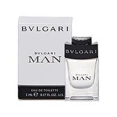 BVLGARI 寶格麗 MAN 當代男性小香水(5ml)【小三美日】※禁空運