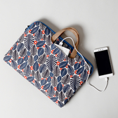 電腦包 筆電包手提15.6寸女蘋果macbook筆記本air13時尚12可愛pro印花14個性 快速出貨