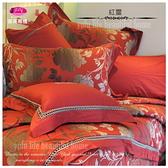 『紅璽』【薄被套+床包】(6*6.2尺)四件套/綠*╮☆御芙專櫃60支高觸感絲光棉/加大