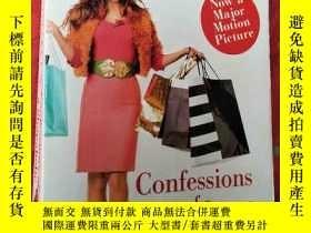 二手書博民逛書店Confessions罕見of a Shopaholic【小32