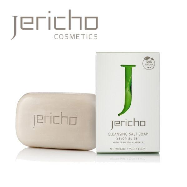 Jericho 天然活膚死海礦物鹽皂 125g