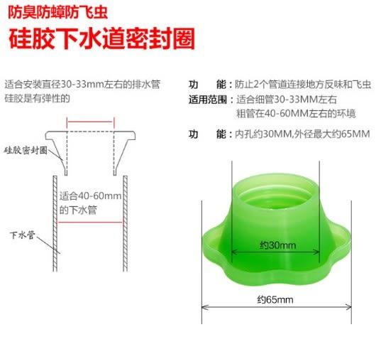 [協貿國際] 創意花邊型下水管道防臭 (10個價)