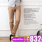 正韓PREMIUM合身褲-時尚修身《024K3682》黑,紅,淺卡其,深卡其,深藍,灰,軍綠共七色『SMR』