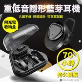 單耳變雙耳+充電收納盒※BL-02不閃燈無線迷你隱形藍芽耳機【RB030】 立體聲音樂藍芽耳機