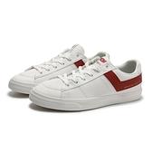 PONY 休閒鞋 PRO 80 白 深紅LOGO 帆布鞋 輕量 百搭 男 (布魯克林) 83M1PR01KR