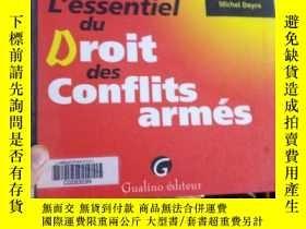 二手書博民逛書店L 罕見essentiel du DROIT des CONFL