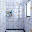 牆紙 衛生間牆紙自黏防水防潮浴室牆貼牆面翻新牆壁紙廚房防油瓷磚貼紙