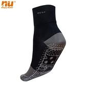 【恩悠數位】NU 能量無痕襪(黑色M)