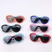 兒童眼鏡寶寶墨鏡防紫外線遮陽防曬偏光鏡男童卡通硅膠軟腿太陽鏡