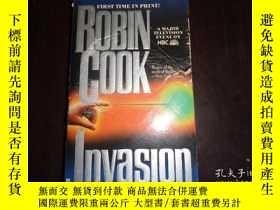 二手書博民逛書店INVASION,ROBIN罕見COOKY19865 Robin