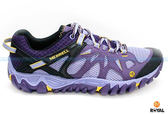 MERRELL 新竹皇家 ALL OUT BLAZE AERO SPORT 紫色 水陸兩棲 運動鞋 女款 NO.I6724