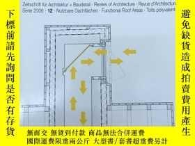 二手書博民逛書店德語原版Detail建築細部雜誌,2006年12月,主題:罕見功