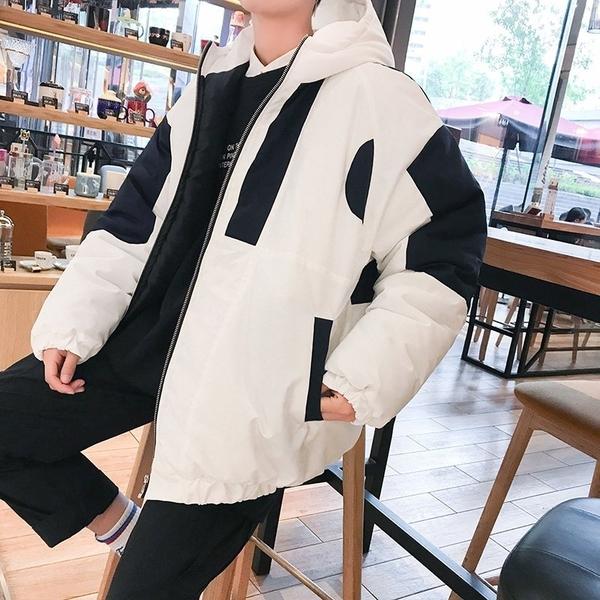 FINDSENSE品牌2018 新款 韓國  長袖  潮流上衣 港風 寬鬆 連帽