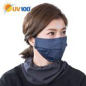 UV100 防曬 抗UV 保暖舒適透氣口罩